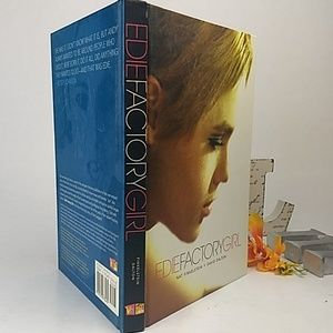 Edie Factory Girl First edition hardcover book